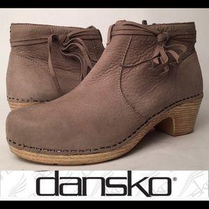 Dansko Markie Tassel Booties